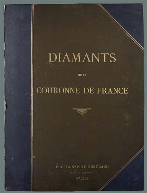 libro la france morcelee folio diamants de la couronne de france paris photographie