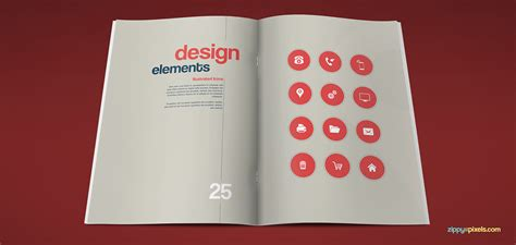 corporate identity manual template the artistic brand guidelines template on behance