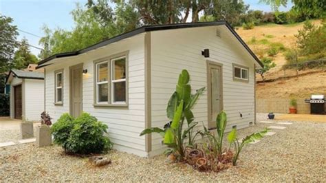 480 sq ft tiny cottage in los angeles beautiful small