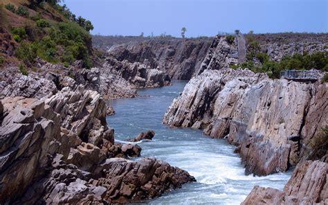 River Narmada), Jabalpur, Madhya Pradesh, India   HD Wallpaper