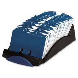 business card file holder rolodex vip card file