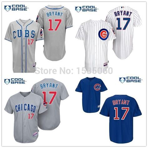 aliexpress jerseys baseball 17 kris bryant jersey youth kids chicago cubs jersey