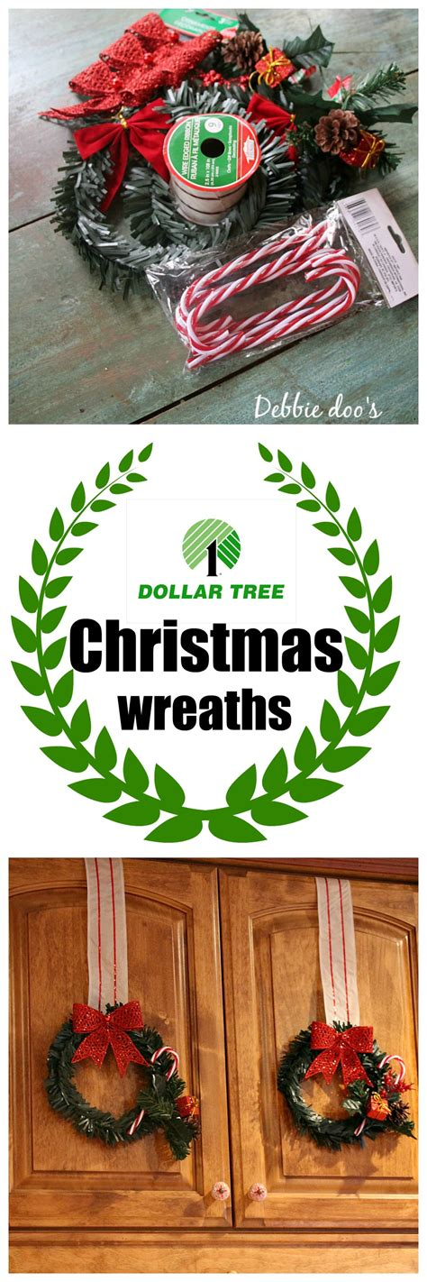 dollar tree christmas craft and decor ideas debbiedoos