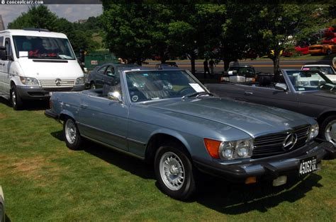 auction results and sales data for 1975 mercedes 450sl