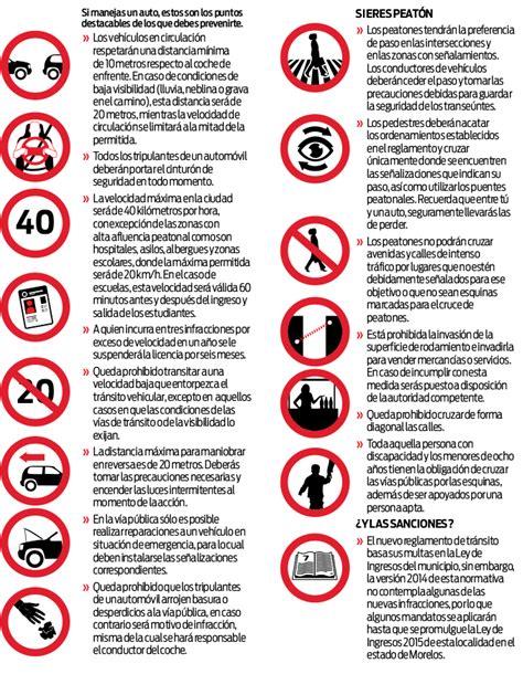 nuevo reglamento de trnsito estado de mxico atraccion360 nuevo reglamento de tr 225 nsito cuernavaca atraccion360