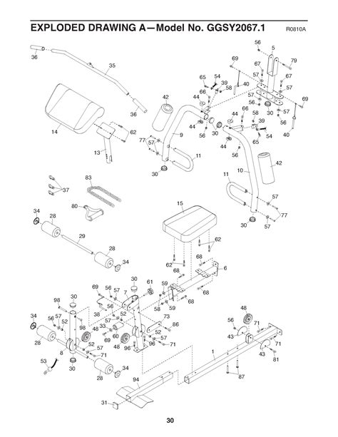 gold s xr45 home parts ggsy20671 the fitness