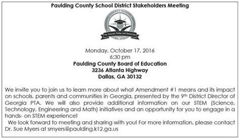Paulding County School Calendar Paulding County School District Homepage