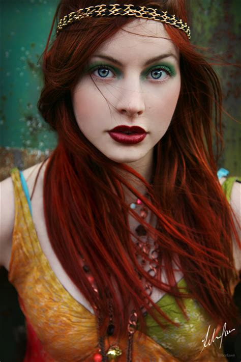 fashion   red hair color