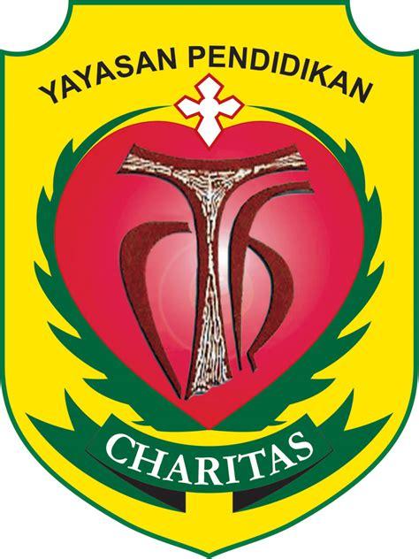 logo semboyan charitas yayasan pendidikan charitas