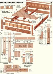 Bed Frame Wood Plans Pdf Plans Free Woodworking Plans Bed Frame Diy