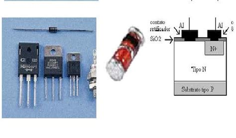 que es schottky barrier diode electronica semiconductores