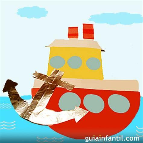 imagenes de barcos para niños barco pesquero manualidades para ni 241 os