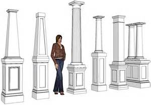 Louvered Doors Home Depot Interior pvc column wraps column covers post covers elite