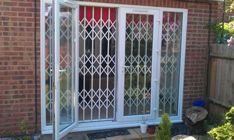 Patio French Doors Safeguard Security Security Shutters For Patio Doors
