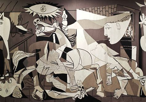 picasso works guernica whitechapel to reopen with site specific artwork by goshka