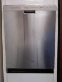 stainless steel dishwasher how to clean kitchenaid