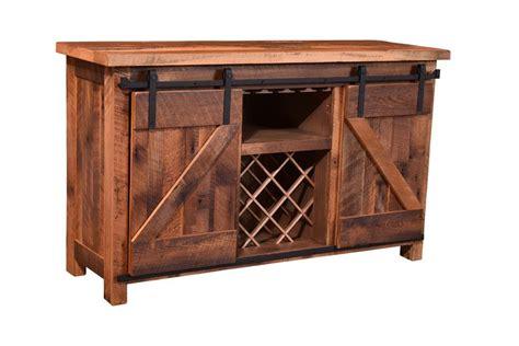 sliding door buffet cabinet sliding barn door wine server