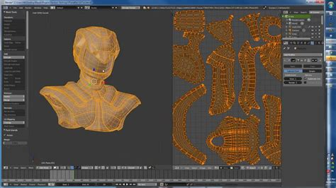 blender 3d unwrap tutorial uv unwrapping and texture painting in blender