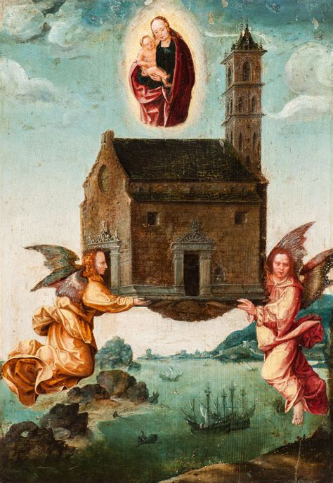 mysterious holy house  loreto