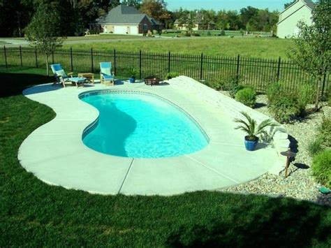 inground pools for small yards triyae com small backyard inground pools various