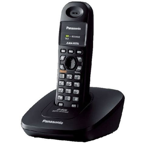 Telephone Wireless Panasonic Kx Tg6411 It Black Diskon jual panasonic cordless phone kx tg3600 black murah