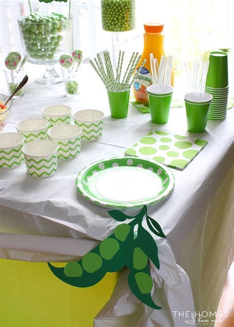 Pea In A Pod Baby Shower Decorations by 17 Best Images About Baby Shower Peas In A Pod On