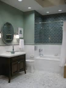 glass tile for bathrooms ideas 34 white hexagon bathroom floor tile ideas and pictures
