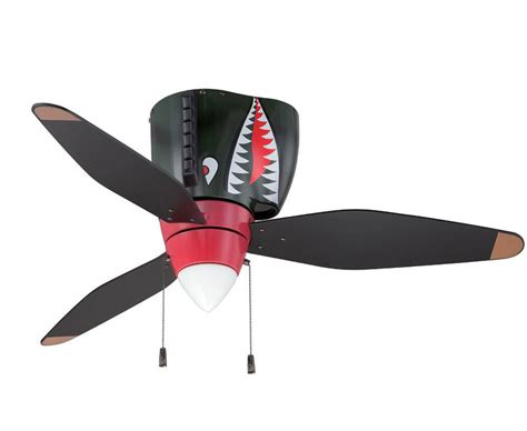 Aviation Ceiling Fans by P 40 Tiger Shark Warbird Airplane Ceiling Fan Airplane