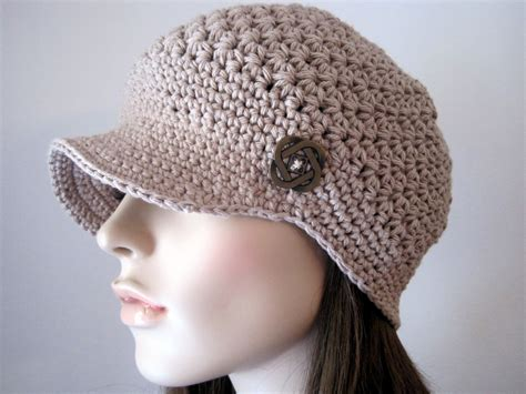 womens accesories crochet hat womens newsboy hat crochet