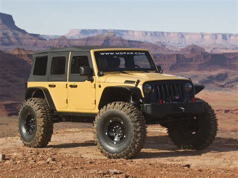 Are All Jeeps 4x4 2013 Jeep Wrangler Sand Trooper Ii Concept 4x4 Offroad
