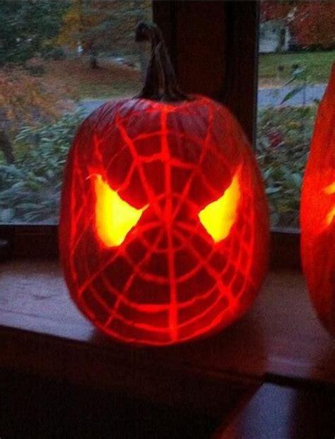 spiderman pattern for pumpkin spiderman pumpkin stencils free halloween pinterest