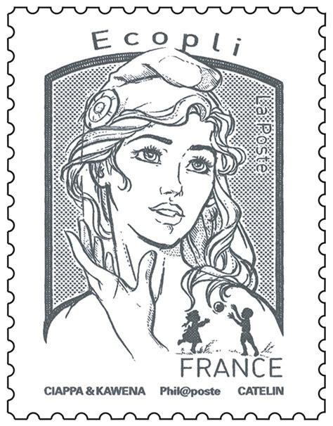 le meilleur timbre de produit timbre marianne et la jeunesse gris ecopli boutique particuliers la poste