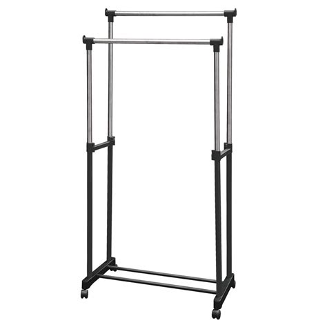 Portable Clothing Rack by Garment Rack Clothes Adjustable Portable Hanging