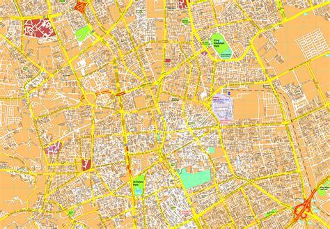map of riyadh city riyadh vector map eps illustrator vector maps of asia