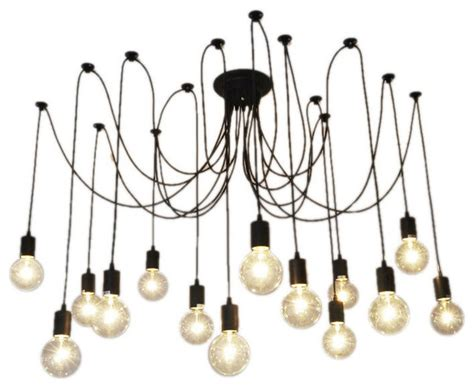 how to swag a chandelier hangout lighting 14 light pendant swag chandelier black
