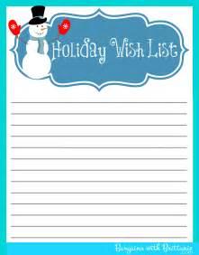 Xmas Wish List Template Gallery For Gt Printable Christmas Wish List