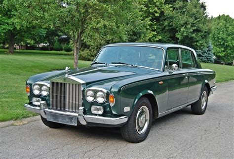 green rolls royce 1974 rolls royce silver shadow lhd highlands green with