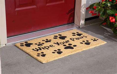 front door mats outdoor affordable non slip rug for