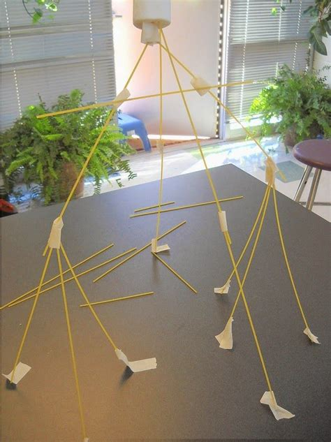How To Make A Tower With One Of Paper - stem spaghetti tower challenge