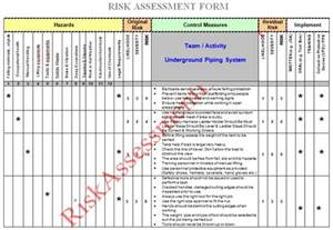hira risk assessment template risk assessment process step 2 risk evaluation and