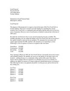 sample cover letter for small business loan cover letter