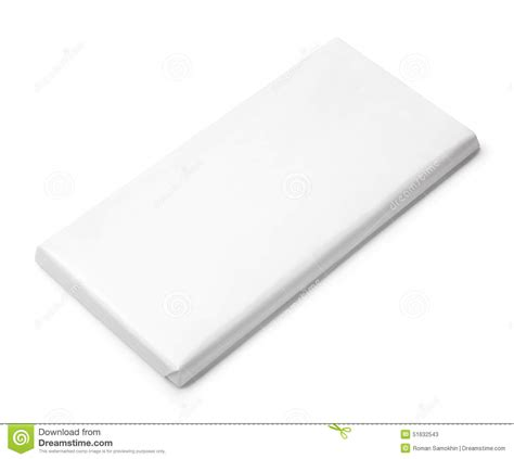 blank packaging templates chocolate bar white blank package template stock photo