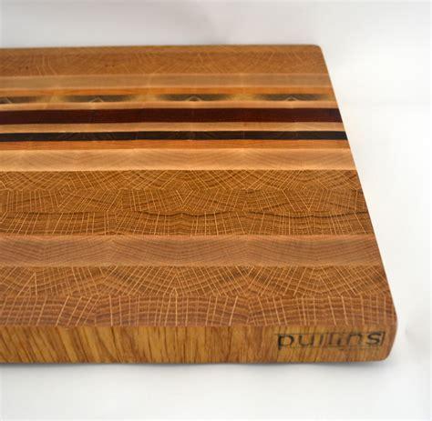 End Grain Cutting Board Oak And Padauk