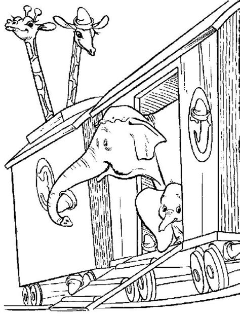 dumbo the elephant coloring pages coloring pages
