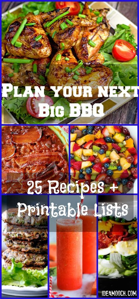 Backyard Bbq Shopping List 17 Best Images About Bbq Ideas On