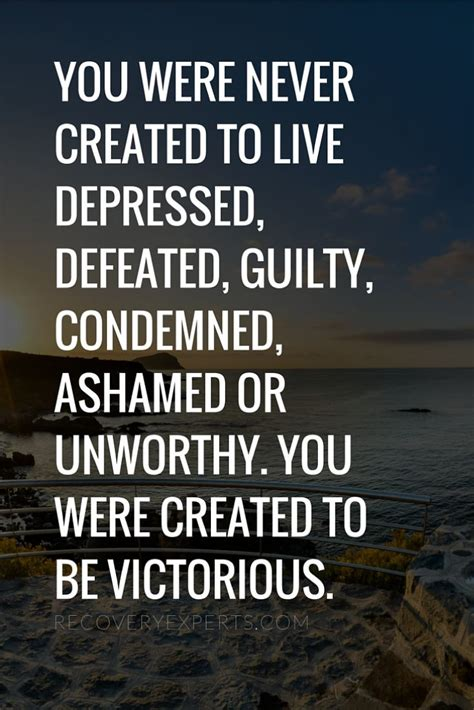 House Detox Quotes by Addiction Recovery Quote You Were Never Created To Live
