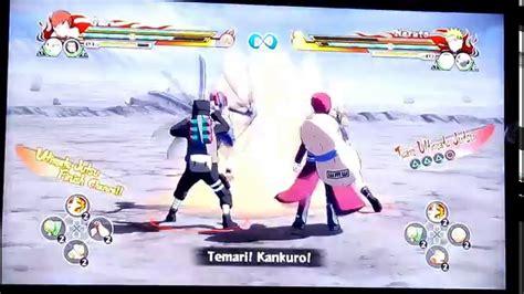 ps3 themes naruto revolution gaara vs naruto naruto shippuden ultimate ninja storm