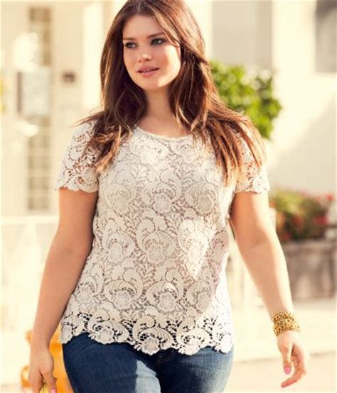 Blouse Big Size Gliter Bintang 4 Sleeved Lace Top W Glitter Effect Button At Back