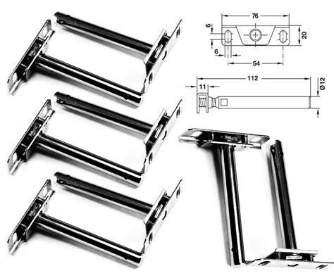 Concealed Floating Shelf Support Brackets Steel by 8 Pcs 4 Pairs Concealed Floating Shelf Support Brackets