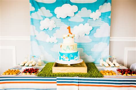 Birthday Decoration Ideas For Boy by Kara S Ideas Modern Boys Will Be Boys 1st Birthday Of Ideas Via Kara S